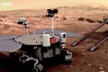 China llama Zhurong, dios del fuego, a su rover que explorará Marte