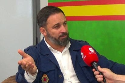 """Entrevista a Santiago Abascal: """"La izquierda no tolera que VOX no pida ni perdón por existir ni permiso para hablar"""""""