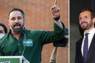 """Abascal retira la mano a Casado: """"No aceptamos tu solidaridad... ¡Como si nosotros lanzáramos piedras!"""""""