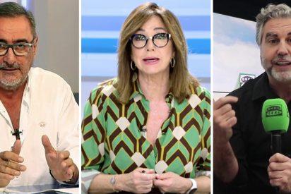 Ana Rosa, Herrera y Alsina se mofan de Sánchez con motes como 'Vacunator' o 'Su Sanchidad'