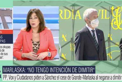 """Ana Rosa estalla con la no marcha de Marlaska: """"Al único que han cesado es al pobre Màxim Huerta"""""""