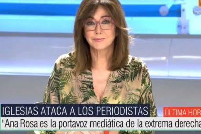 "Ana Rosa Quintana: ""Señor Iglesias, usted es un fascista"""
