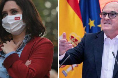 """Ayuso quita la careta de moderado al socialista Gabilondo: """"Si de mí depende, no será ni Defensor del Pueblo"""""""