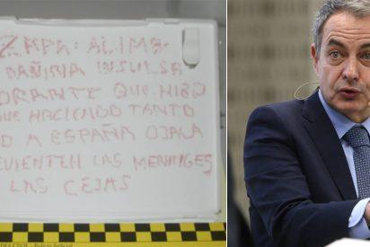El que faltaba en el circo: Correos intercepta dos balas de 38mm y una nota para Zapatero