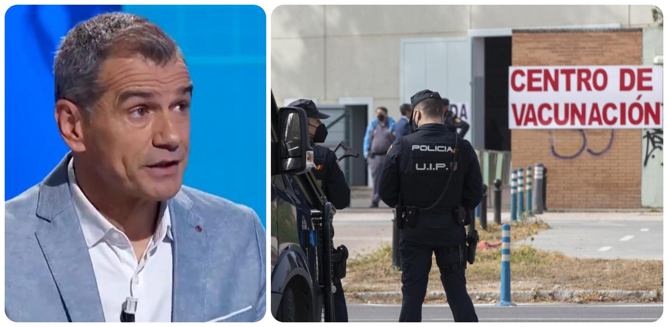 Cantó arremete contra Sánchez por permitir que sigan sin vacunar a agentes de Policía y Guardia Civil en Cataluña