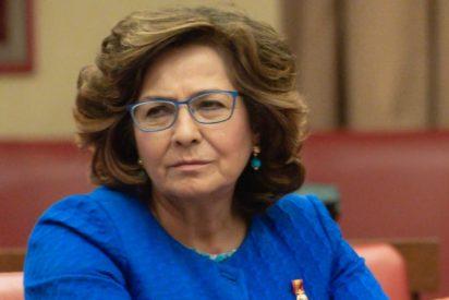 """Carmen Riolobos (PP): """"El Gobierno de Sánchez miente como un bellaco sobre las mascarillas y las vacunas"""""""
