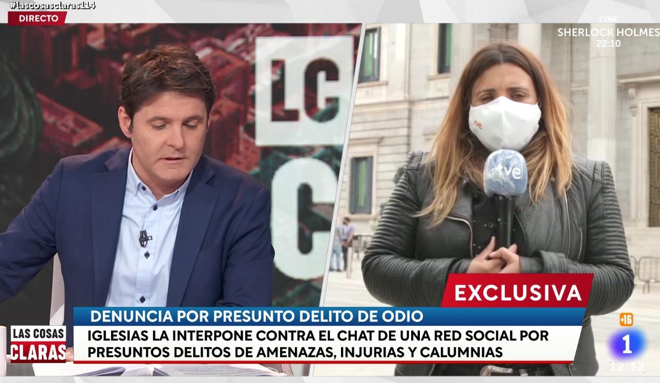 Iglesias filtra a su amigo Cintora una denuncia contra la Policía para salvar su negro futuro en TVE
