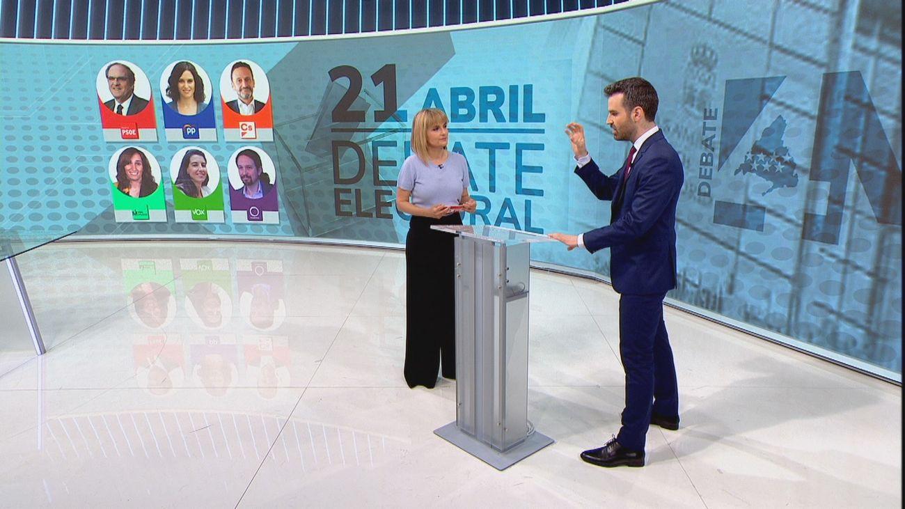 Ayuso, tras arrasar en laSexta, se enfrentará al debate electoral en una podemizada Telemadrid