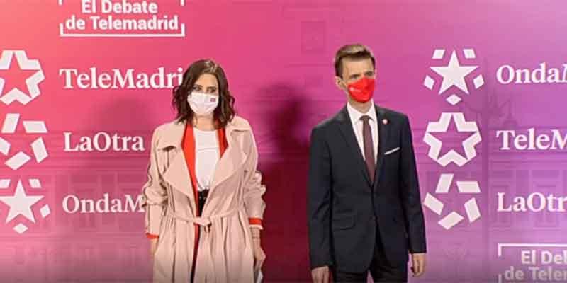 La noche más negra de José Pablo López: hasta un sondeo de Telemadrid da como clara ganadora a Ayuso