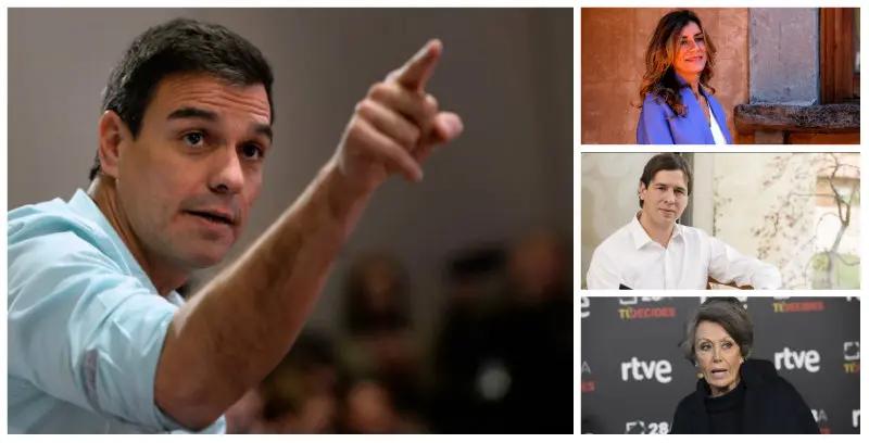 Santiago Abascal (VOX) denuncia la 'agencia de colocación' en que Pedro Sánchez (PSOE) ha convertido el Estado español