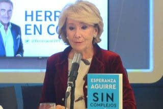 """Esperanza Aguirre: """"El giro al centro de Casado no ha funcionado; la estrategia de Ayuso, sí"""""""