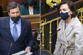 """Espinosa de los Monteros reta a Carmen Calvo: """"¿Cuál es la falacia? ¿Existen los 'menas' o no?"""""""