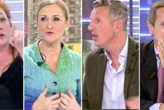 Reprimenda a Cristina Fallarás en Cuatro por comportarse como una ultra feroz