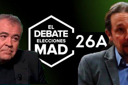 Un histérico Iglesias chafa la 'fiesta electoral' de Ferreras: laSexta cancela su debate del 26 de abril