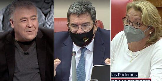 """Ferreras alucina con la podemita que dice en el Congreso que a su pareja de coalición """"le huelen los pies"""""""