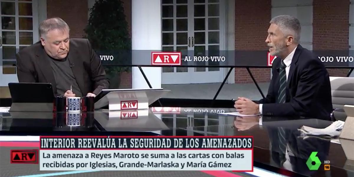 """""""Es muy grave, Marlaska pidió entrar en televisión para contar lo de la navaja en directo"""""""