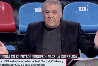 """Ferreras sigue al pie de la letra a Florentino y se convierte en su ariete contra todos: """"¿Qué es la pureza del fútbol?"""""""