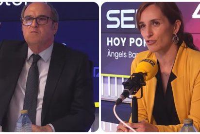 Gabilondo y Mónica García reciben instrucciones y se van del debate de la SER tras la 'espantada' de Iglesias