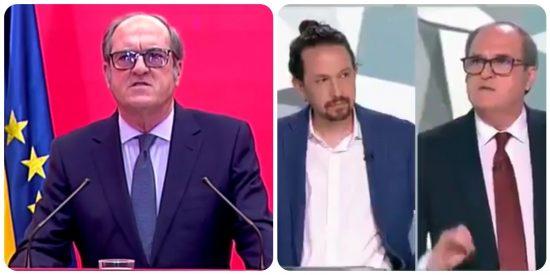 """Autozasca de Gabilondo: del """"gobernaré con Más Madrid y Ciudadanos"""" al """"Pablo, tenemos 12 días para ganar"""""""