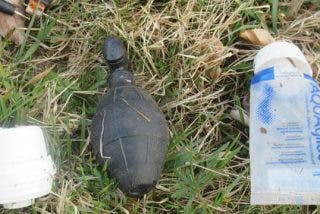 Una alemana confunde una granada de la II Guerra Mundial con un juguete sexual