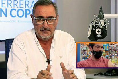 """Herrera salta contra los que insultan al actor Miguel Ángel Muñoz por vacunarse en EEUU: """"¡Imbéciles!"""""""