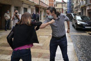 Grave crisis íntima entre Iglesias e Irene Montero en plena campaña y con Lilith Verstrynge de fondo