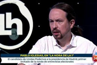 Iglesias exige en TVE la mordaza mediática a VOX y 'amenaza' con no debatir con los de Abascal