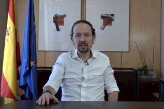 Eficaz iniciativa: una simple pegatina revienta la campaña a Podemos y liquida a Pablo Iglesias
