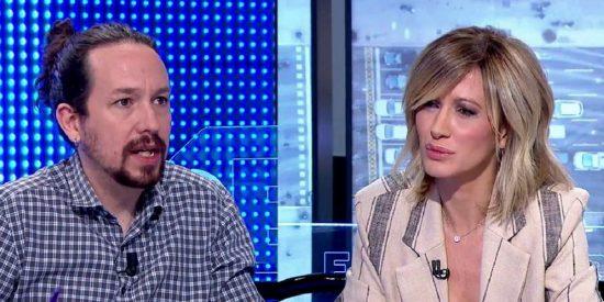 Pablo Iglesias huye como un conejo cuando Susanna Griso le pregunta sobre los bandazos de su 'camarada' Gabilondo