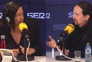 Barceló invita a Iglesias a la SER y vuelve a cogerlo de la 'manita'