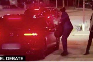 Pablo Iglesias fue en taxi al debate de Telemadrid pero regresó a Galapagar en vehículo privado y chófer
