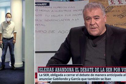 VOX hace sangre con la 'huida' de Iglesias y ahora señala directamente al cómplice Ferreras