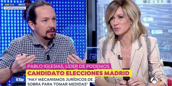 """Otra vomitona de Iglesias ante el silencio de Griso: """"VOX hace apología de los GAL y del terrorismo de Estado"""""""