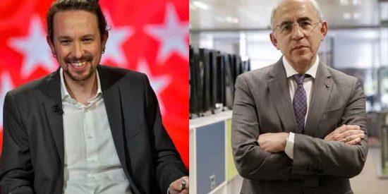 """Pablo Iglesias llama a Francisco Rosell """"el calvo de El Mundo"""""""
