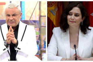 Jorge Javier, el 'falso progre', se permite ironizar sobre Díaz Ayuso pero le sale el tiro por la culata
