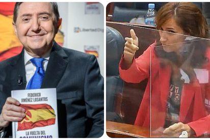 """La 'pistolera' Mónica García entra al trapo de Losantos, que especuló sobre sus orgasmos: """"Prefiero no imaginarme tu vida sexual"""""""