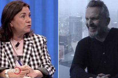 La salvajada de Lucía Méndez en laSexta para desacreditar a Miguel Bosé
