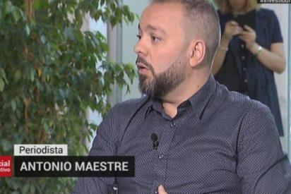 """Los madrileños acribillan a Telemadrid por llevar de tertuliano al """"violento"""" Maestre: """"Debería estar vetado"""""""