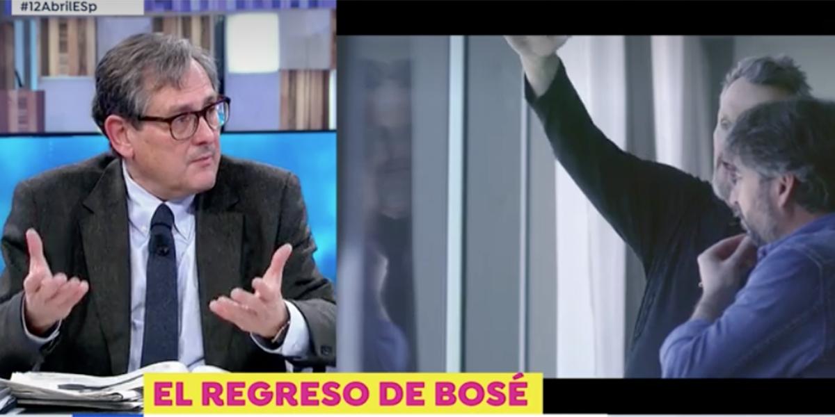 """Francisco Marhuenda ataca a Miguel Bosé: """"Es un desecho humano, me da pena"""""""