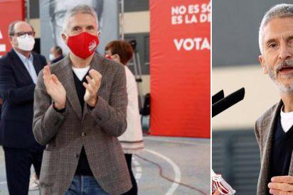 Marlaska califica al PP de 'organización criminal' y en Génova sopesan querellarse contra él