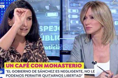 """Enorme zasca de Monasterio (VOX) a Griso : """"La chica violada por los MENAS sí que fue tratada como un animal"""""""