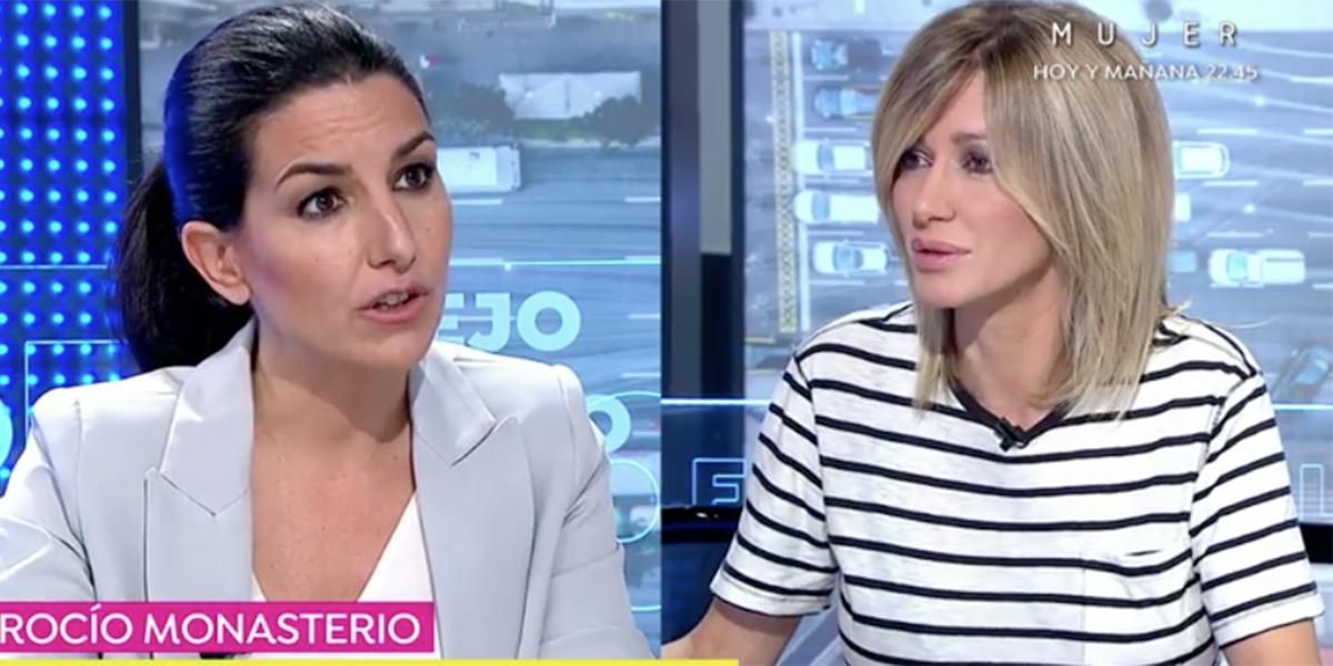 """Susanna Griso enarbola la bandera de los MENAS y Rocío Monasterio se lamenta: """"¡Este es el gran engaño!"""""""
