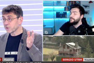 El defraudador Monedero critica a los youtubers por no pagar impuestos en España y UTBH le cierra la boca