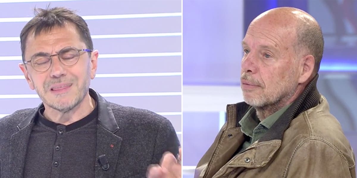 """Colosal bronca en Cuatro de Jaime González al defensor de violentos, Monedero: """"Me tengo que contener"""""""