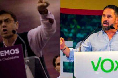 """El intolerante Monedero dice que habrá que """"desinfectar con lejía"""" en Vallecas tras el acto de VOX"""