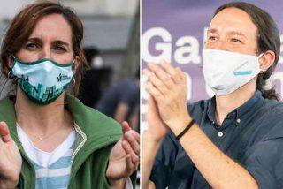 ¿'Efecto Iglesias'?: Un hacker asalta la web de Más Madrid y desvía 8.000 euros a una cuenta de Podemos