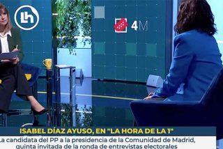 La izquierda 'agota sus balas': Díaz Ayuso resiste treinta minutos de acoso y derribo de Mónica López en TVE