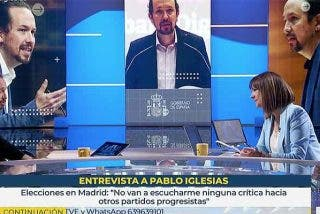 Mónica López permitió a Iglesias no condenar las agresiones a VOX pero regañó a Monasterio por lo de las amenazas con balas