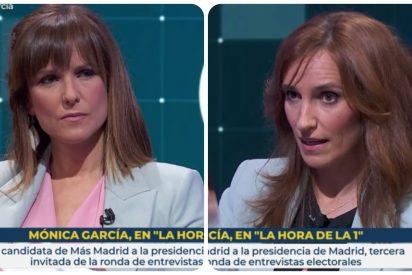 """Mónica López y la pregunta 'milagro' en TVE: """"Sigo sin entender por qué los madrileños continúan votando a Díaz Ayuso"""""""