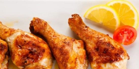 Muslos de pollo al horno fáciles